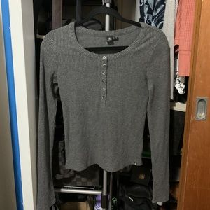 Volcom Grey Long Sleeve